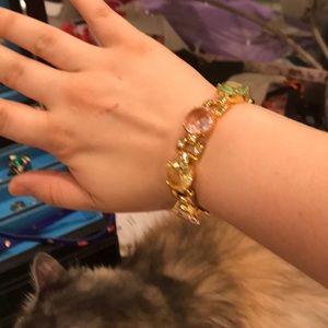 Authentic Kate Spade Pastel Gem Bracelet